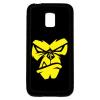 PRINTFASHION Dühös majom - Telefontok - Fekete hátlap