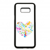 PRINTFASHION Egyszarvú szív - Telefontok - Fehér hátlap