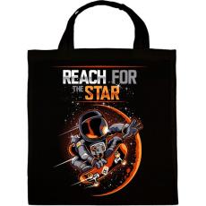PRINTFASHION Elérni a csillagokat - Vászontáska - Fekete
