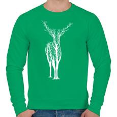 PRINTFASHION Élővilág - Férfi pulóver - Zöld