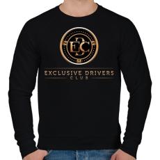 PRINTFASHION Exclusive DC - Férfi pulóver - Fekete