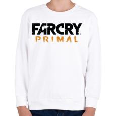 PRINTFASHION Far Cry Primal - Gyerek pulóver - Fehér
