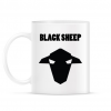 PRINTFASHION fekete bárány - Bögre - Fehér