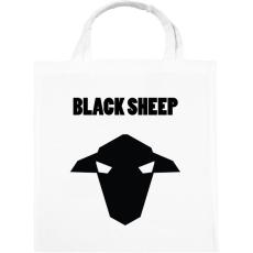 PRINTFASHION fekete bárány - Vászontáska - Fehér