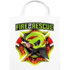 PRINTFASHION Fire and Rescue - Vászontáska - Fehér