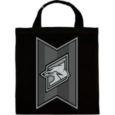 PRINTFASHION Fox Stripes - Vászontáska - Fekete