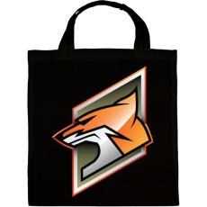 PRINTFASHION Fox - Vászontáska - Fekete