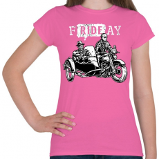PRINTFASHION fRIDEay  - Női póló - Rózsaszín