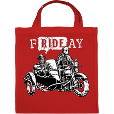 PRINTFASHION fRIDEay  - Vászontáska - Piros
