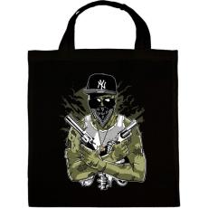 PRINTFASHION Gangsta Zombie - Vászontáska - Fekete