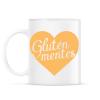 PRINTFASHION gluten-free-love-orange - Bögre - Fehér