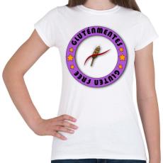 PRINTFASHION Glutenfree5 - Női póló - Fehér