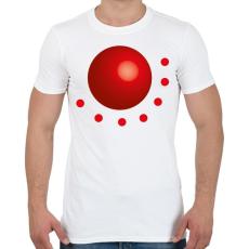 PRINTFASHION GR002 - Férfi póló - Fehér