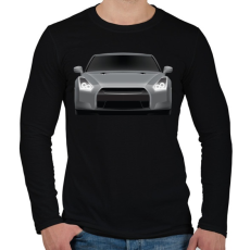 PRINTFASHION GTR - Férfi hosszú ujjú póló - Fekete