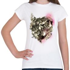 PRINTFASHION Gyűlölt gépezet - Női póló - Fehér