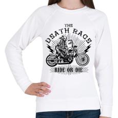 PRINTFASHION Halálfutam - Női pulóver - Fehér