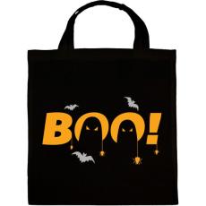 PRINTFASHION Halloween Boo! - Vászontáska - Fekete