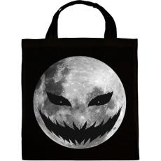 PRINTFASHION Halloween éjszaka - Vászontáska - Fekete