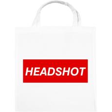 PRINTFASHION Headshot - Vászontáska - Fehér