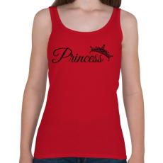 PRINTFASHION Hercegnő - Női atléta - Cseresznyepiros