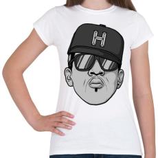 PRINTFASHION HipHop - Női póló - Fehér