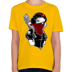PRINTFASHION Hófehérke hobbija - Gyerek póló - Sárga