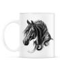 PRINTFASHION horse spirit - Bögre - Fehér