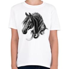 PRINTFASHION horse spirit - Gyerek póló - Fehér