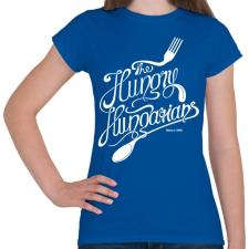 PRINTFASHION Hungry hungarians - Női póló - Királykék női póló