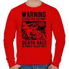PRINTFASHION Illegális futam - Férfi pulóver - Piros