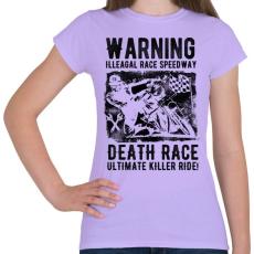 PRINTFASHION Illegális futam - Női póló - Viola