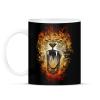 PRINTFASHION Inferno - Bögre - Fekete