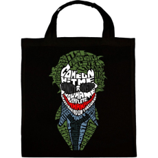 PRINTFASHION Joker - Vászontáska - Fekete