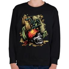 PRINTFASHION Kalóz - Gyerek pulóver - Fekete