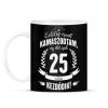 PRINTFASHION kamasz-25-white - Bögre - Fekete
