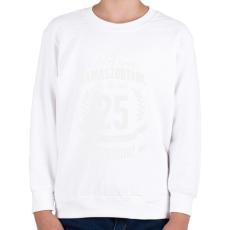 PRINTFASHION kamasz-25-white - Gyerek pulóver - Fehér