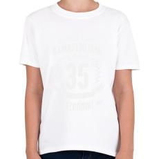PRINTFASHION kamasz-35-white - Gyerek póló - Fehér