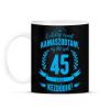 PRINTFASHION kamasz-45-cyan - Bögre - Fekete