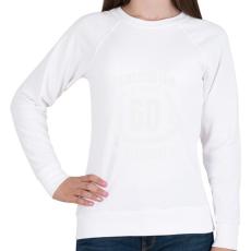 PRINTFASHION kamasz-60-white - Női pulóver - Fehér
