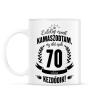 PRINTFASHION kamasz-70-black - Bögre - Fehér