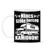 PRINTFASHION Kamionos Fehér - Bögre - Fekete