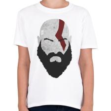 PRINTFASHION Kratos - Gyerek póló - Fehér gyerek póló