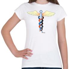 PRINTFASHION Kundalíni - Női póló - Fehér