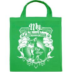 PRINTFASHION Kutyabarát - Vászontáska - Zöld