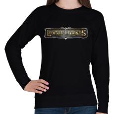 PRINTFASHION League of Legends - Női pulóver - Fekete