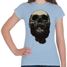 PRINTFASHION Lélekfaló - Női póló - Világoskék női póló