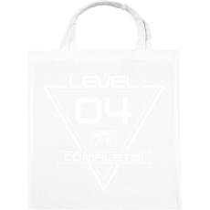 PRINTFASHION level-complete-04-white - Vászontáska - Fehér