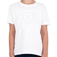 PRINTFASHION level-complete-17-white - Gyerek póló - Fehér