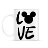 PRINTFASHION Love Mickey - Bögre - Fehér