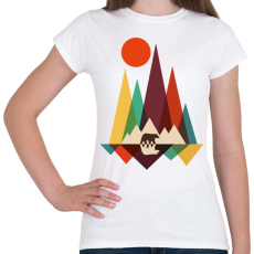 PRINTFASHION macika - Női póló - Fehér
